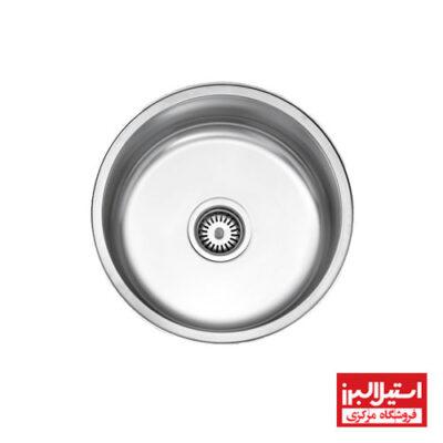 سینک ظرفشویی توکار استیل البرز مدل 170