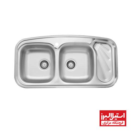 سینک ظرفشویی توکار استیل البرز مدل 200