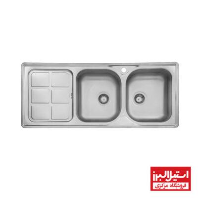 سینک توکار استیل البرز مدل 215
