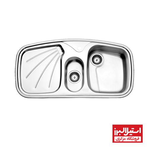 سینک توکار استیل البرز مدل 610