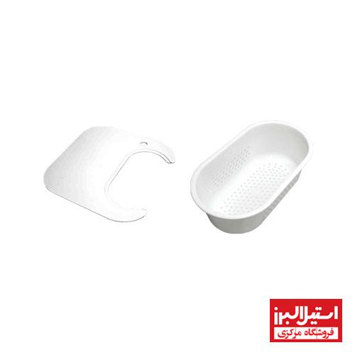 سبد و تخته کار سینک استیل البرز