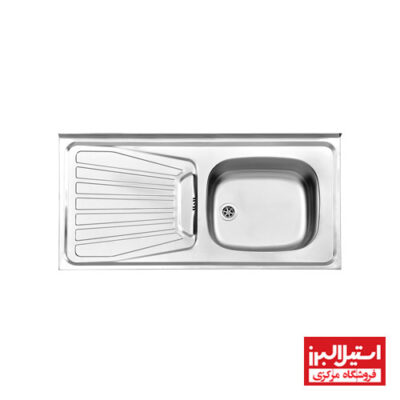 سینک روکار استیل البرز مدل 50-165