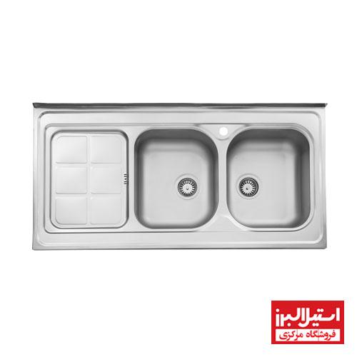 سینک روکار استیل البرز مدل 215