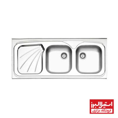 سینک روکار استیل البرز مدل 270/50