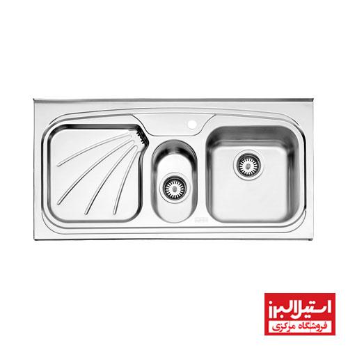 سینک روکار استیل البرز مدل 610/50