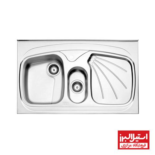 سینک فانتزی روکار استیل البرز مدل 610/60