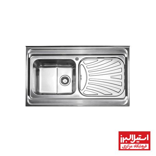 سینک فانتزی روکار استیل البرز مدل 711