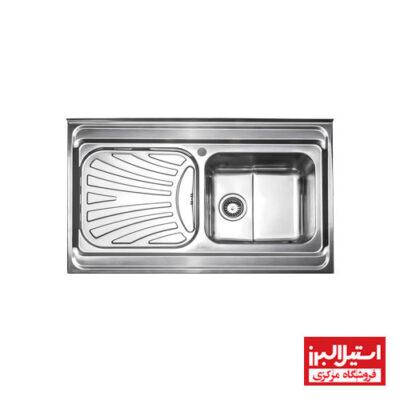 سینک روکار استیل البرز مدل 711