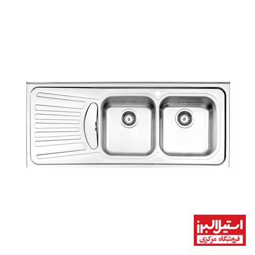 سینک روکار استیل البرز مدل 725