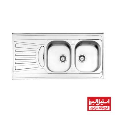 سینک روکار استیل البرز مدل 725/60