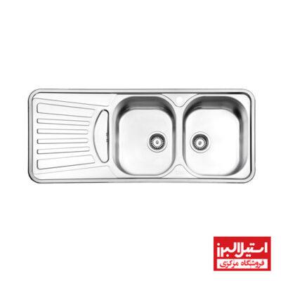 سینک توکار استیل البرز مدل 725