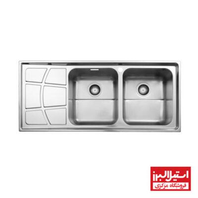 سینک توکار استیل البرز مدل 762