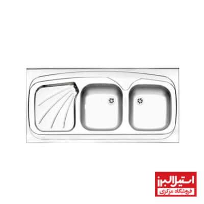 سینک روکار استیل البرز مدل 220/60